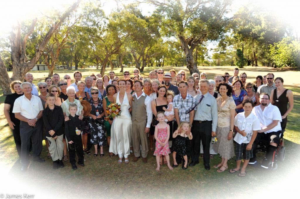 fremantle family wedding