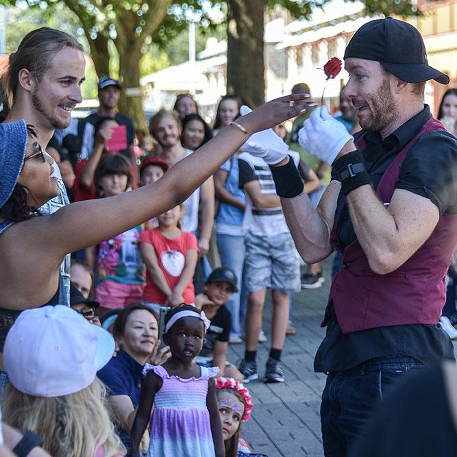 fremantle festival scene with children